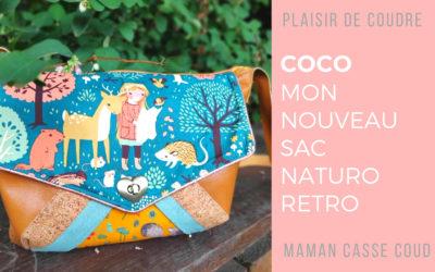 """""""Coco"""" – Mon nouveau sac au Look Naturo-Rétro"""